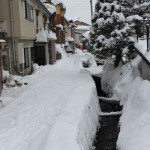 Back Streets very cool in Nozawa