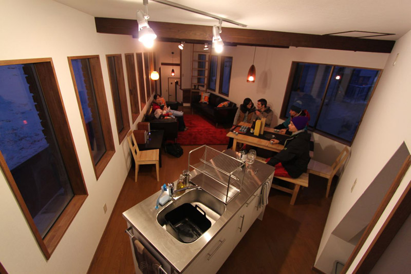 Living Area Nozawa Cottage