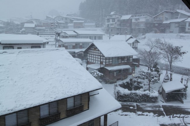 Snow storm hitting Nozawa one of the only storms people seem to really look forward to!