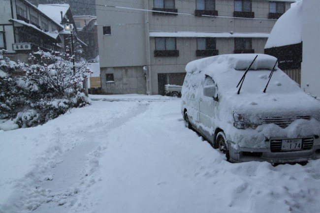 """The """"Magic Foot"""" is back with a 30cm dump overnight in Nozawa. Time to go skiing in Japan"""