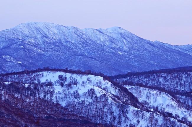Dusk views from Mt Kenashi
