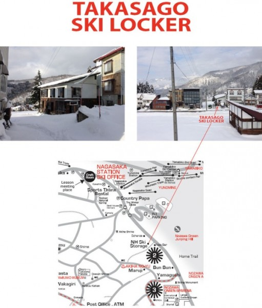 Convenient Ski Locker for Nozawa Holiday Guests