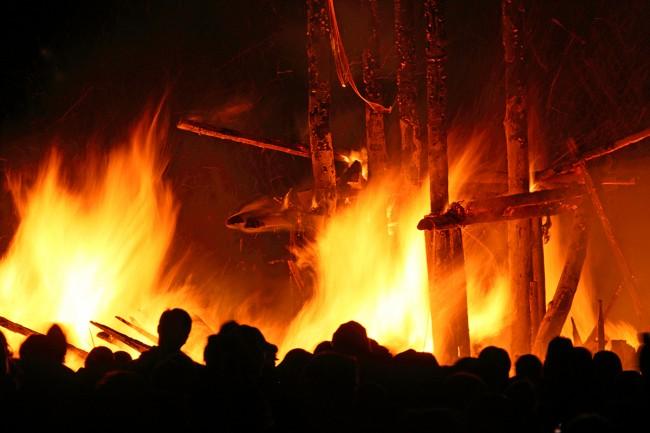 Fire festival memories.
