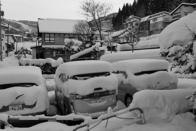 The big dumps just keep coming this March in Nozawa.