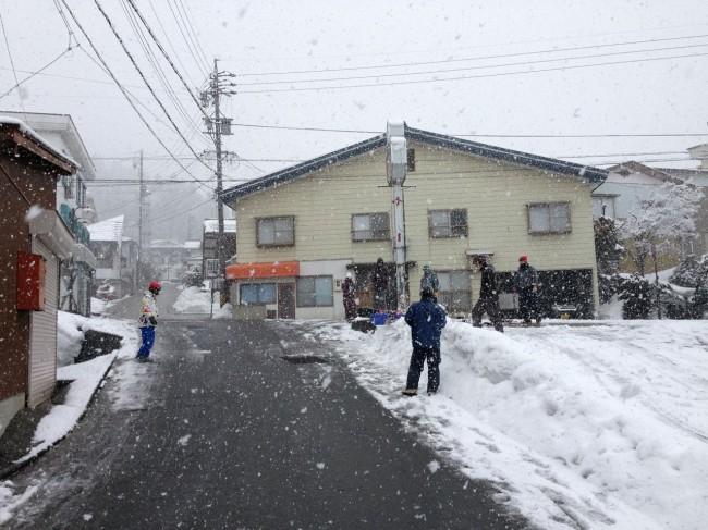 Big Flake Friday in Nozawa