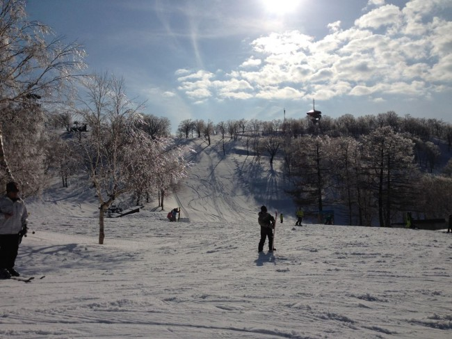 Last dump of teh season in Nozawa?