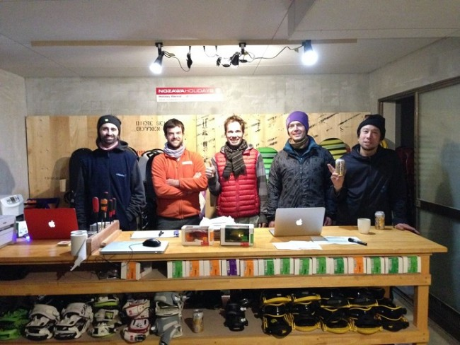 We have gathered a team of knowledgeable and professional ski and snowboard technicians from around the globe to take care of all your rental needs. They have the experience to put on gear that wil help you get the most of your ski holiday in Nozawa Onsen