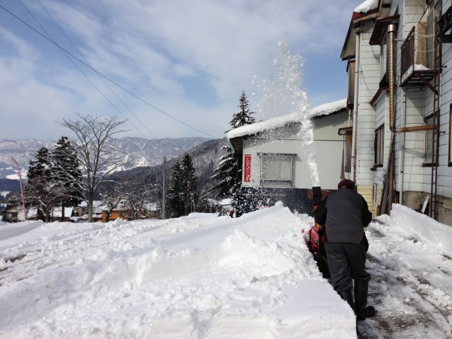 Time to clear the decks for the next big thing in Nozawa Onsen