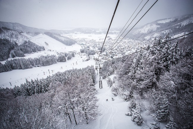 Nozawa Chairlift Views!