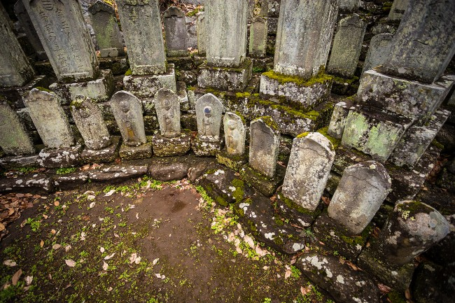 Obuse temples.