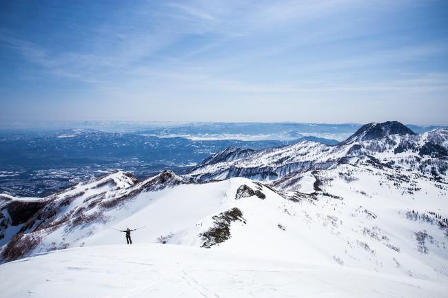 Weekend alpine touring.