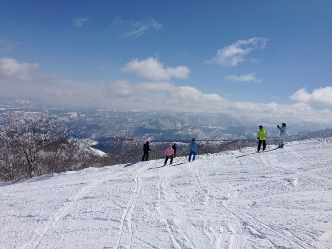 Some sunny days ahead fro the Golden Week holiday in Nozawa Onsen