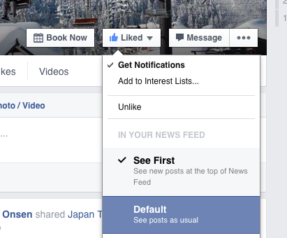Follow us on Facebook to stay in the loop at Nozawa Onsen. Be sure to see the posts by clicking Get Notifications