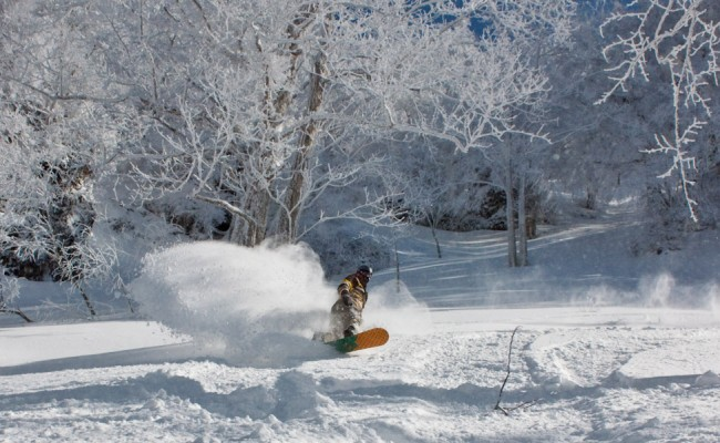 Mid March 2010, almost every year March delivers on the good times, snow and no crowds in Nozawa.