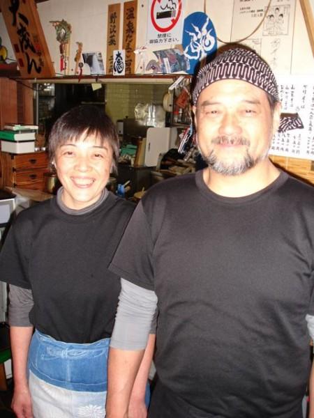 Keiko san and Katagiri san lovely hosts and amazing soba chefs