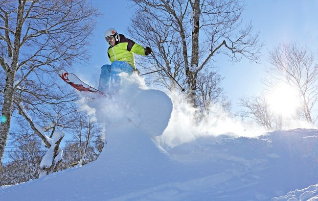 Take the Shuttle from the Airport to Nozawa and get amongst this even faster!