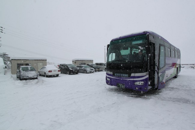 Nozawa Snow Shuttle travel in style up to the slopes and traditional Village of Nozawa Onsen
