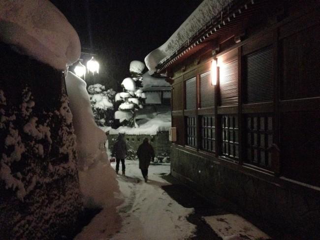 Roaming the streets of Nozawa Onsen is beautiful