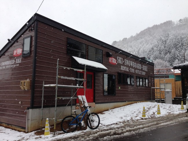 Mt Dock and Gondola Cafe. Right at the base of the main Nagasaka Gondola great place to fuel and gear up on the slopes in Nozawa
