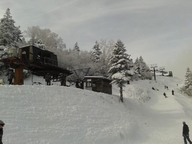 With the snow machines and few dumps we have had the cover is fair up at Ryuoo Park near by Nozawa at present