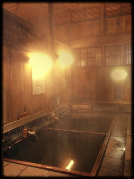 Oyu Onsen in Nozawa Onsen great place for soak and rest the tired muscles