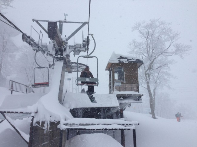 The lifts are set to stop rolling today in Nozawa Onsen. Otsukaresama for another busy season