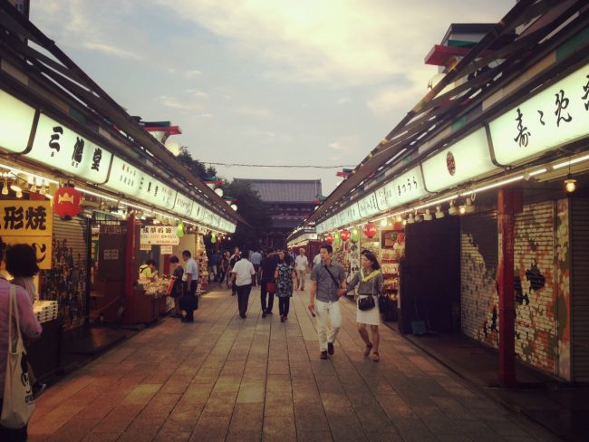 Asakusa in Tokyo is a real travellers hub these days. Lots of cool options and very near Ueno Station with easy access to Nozawa.