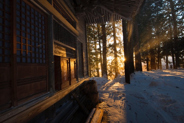 Yuzawa Jinja has a long and spiritual history in the village of Nozawa. A great place to stroll and find some peace.