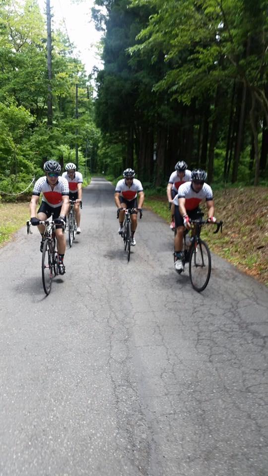 Cycling Event Nozawa Japan