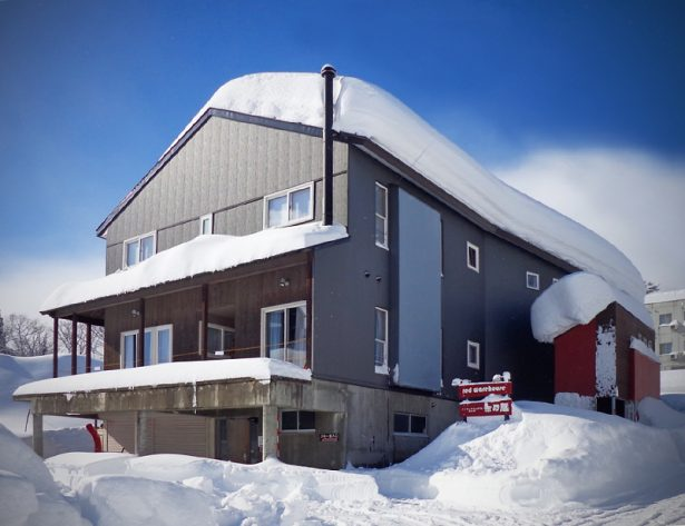 Red Warehouse Myoko Kogen a great place to stay in Myoko area with Nic and the team