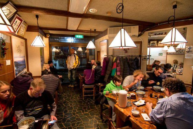 Daimon Soba one of the many great family run restaurants in Nozawa Onsen