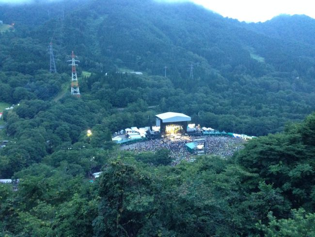 The Fuji Rock Festival held about 1 hour from Nozawa in Yuzawa is an amazing weekend