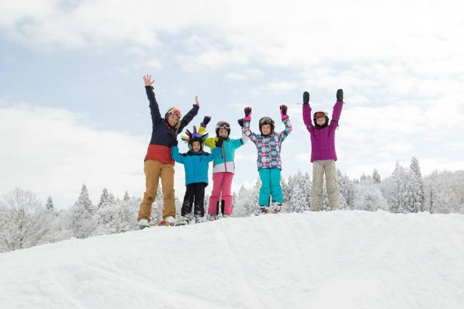 Kids Lessons with English Speaking Instructors makes it easy with Nozawa Holidays