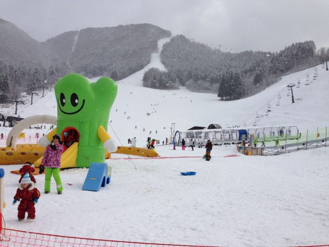The Nozawa Onsen Kids Park on the slopes at Hikage a world of fun for everyone