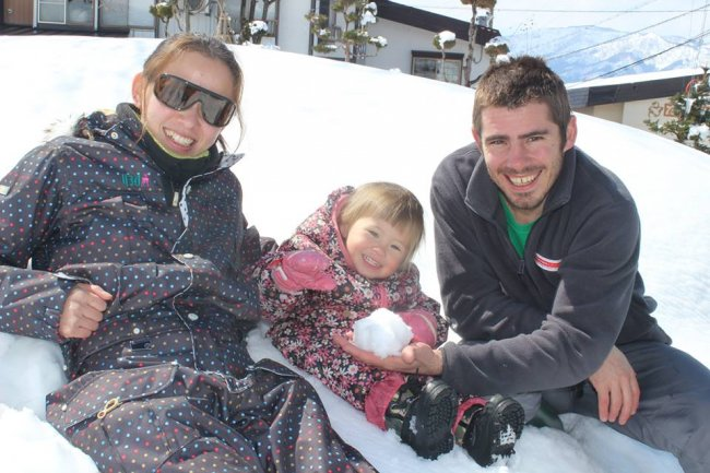 Luke, Mariko and family together with a great team will ensure you have an awesome stay in Nozawa Onsen