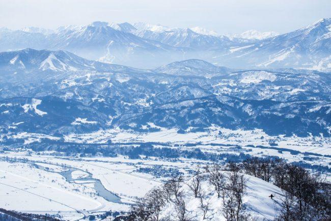 Japan Mountain Alps Nozawa