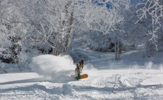 spring skiing nozawa onsen japan