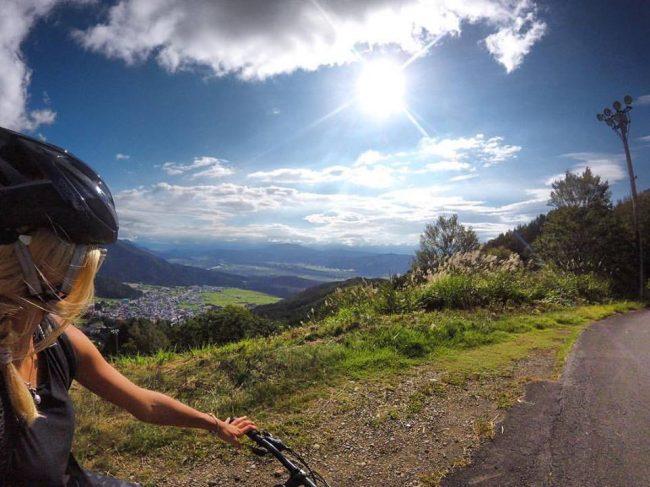 Mountain bike weekend Nozawa