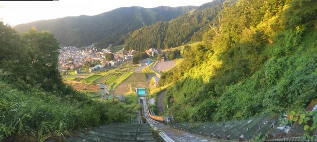 Nozawa Ski Jump Views