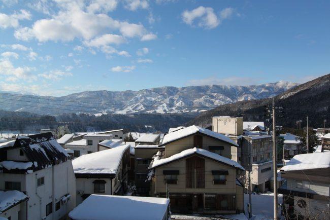 Change winter Nozawa view Villa Nozawa