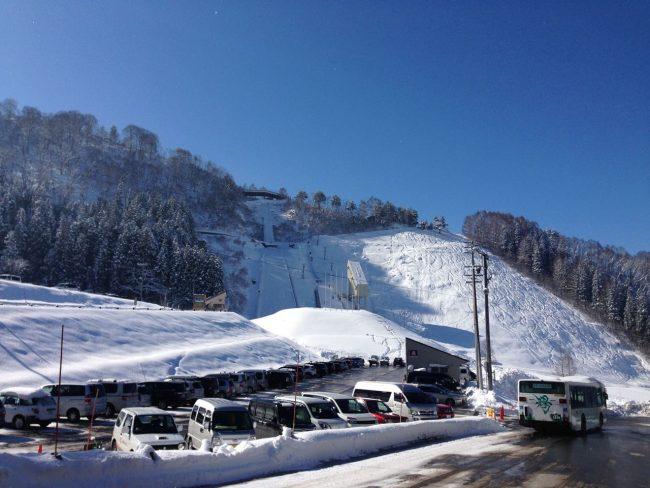 Nozawa things slide slope