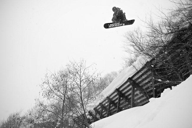 Snowboarding Nozawa History