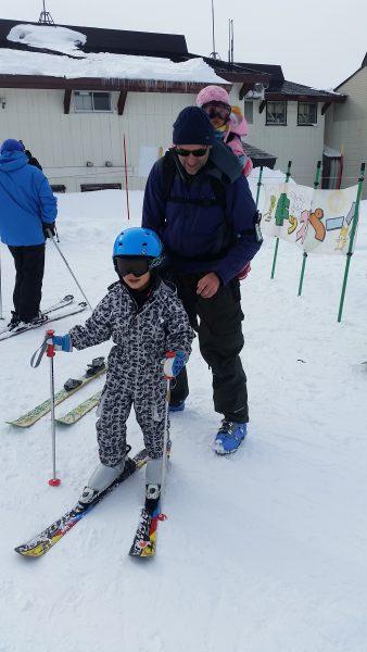 Skiing with Kids Nozawa Onsen