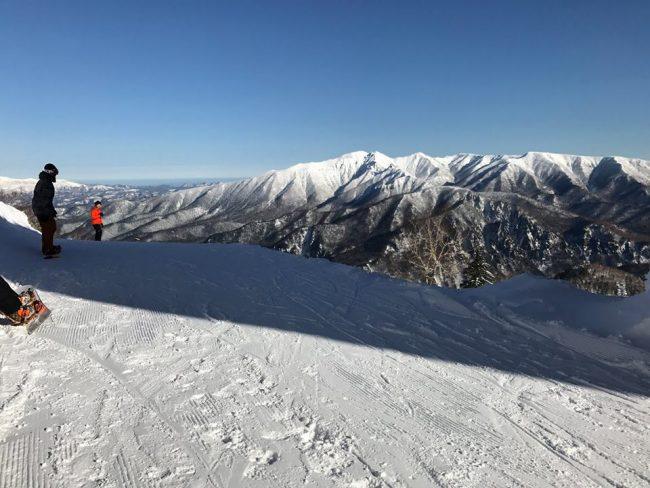 First Ski Resorts Open Japan