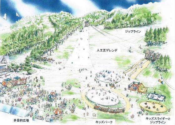 Hikage Ski Lift Nozawa Onsen