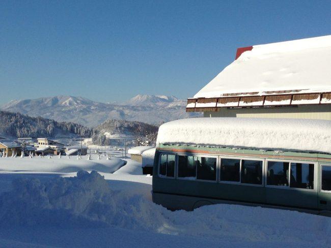 Early snow Nozawa