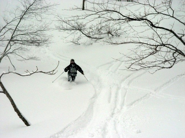 Gassan Backcountry Skiing