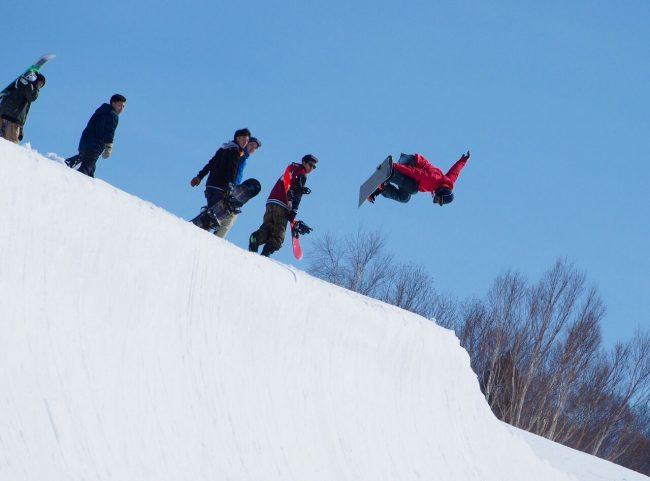 Spring Skiing Nozawa Onsen
