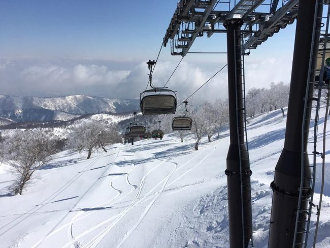 April Snow in Nozawa Onsen