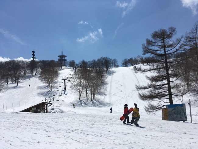 Nozawa Onsen Snow Report 5th April 2017